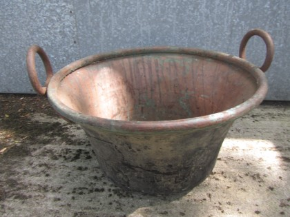 Copper Urn - large